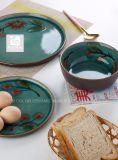 Übergebung der gedruckten Set-Stein-Waren des Abendessen-3PCS