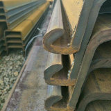 Sy295 Palplanches en acier de la norme JIS 400x170x16mm