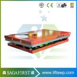 1ton à la plate-forme hypersustentatrice de levage de cargaison des ciseaux 3ton