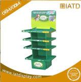 Étalage de empaquetage de cadres de Carboard d'étage d'étalage favorable à l'environnement de poubelle