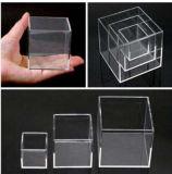 Het duidelijke Plastic Acryl Kosmetische Vakje van de Suggestie van de Schoen van de Vertoning