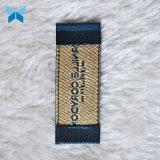 Comercio al por mayor ropa de tela de diseñador de la fábrica de etiquetas para prendas de vestir de etiqueta tejida