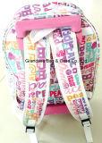 高品質の引っ張り棒のトロリーおよびバックパックマルチ機能Duffel旅行学校の子供袋(GB#10008)
