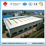 Construção de aço clara para a oficina/armazém com certificação do GV/ISO