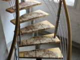 Ковер лестницы европейского типа деревенский