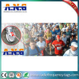 Sapata de desporto Etiqueta UHF RFID descartáveis para a maratona do Sistema de Distribuição