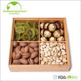 Casella naturale del bambù di memoria della caramella