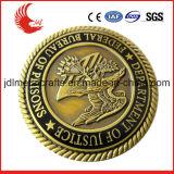 Metallmaterieller Bronzefertigkeit-Typ kundenspezifisches Metall, das Münzen stempelt