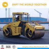 중국 20 톤 도로 쓰레기 압축 분쇄기 공장 두 배 드럼 도로 쓰레기 압축 분쇄기