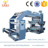 4-Colour Flexo Plastik-BOPP Film-Drucken-Maschine