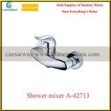 Choisir les longs robinets d'eau de salle de bains de bec de traitement
