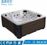 4人のためのMonalisaの小型円形の鉱泉の温水浴槽(M-3383)