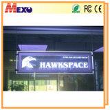 Escaparate de acrílico Letrero LED tarjeta de la muestra con la impresión de Fronteras