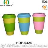 Tasse de café en fibre de bambou à plusieurs couleurs Mug de voyage (HDP-0424)