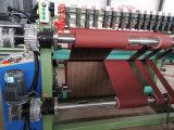 Rolo jumbo abrasivos Cortador rebobinando a máquina para a colocação da fita de lixa
