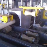 Linha extrusora da extrusão da tubulação do PVC Sjsz80 de parafuso gêmea cónica plástica