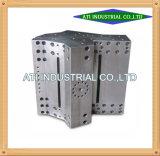 Pièces de usinage de commande numérique par ordinateur en métal de qualité et de précision avec la pièce forgéee en aluminium en laiton