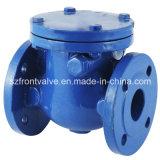O ferro de molde/ferro Ductile flangeou válvula de verificação do balanço