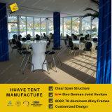 イベントのための2つの床張りの防風の玄関ひさしのテント