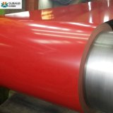 Los materiales de construcción de la bobina de acero galvanizado recubierto de color