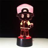 Покемон коллекция Ash Ketchum LED 3D подарки ночной свет