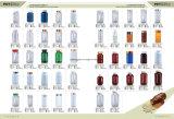 frasco líquido da medicina do frasco plástico farmacêutico do animal de estimação 100ml com tampão do metal
