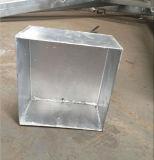 Материал стали трейлера платформы кровати большого завода тома низкий