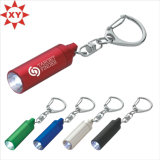 Aluminum Engraved LED key chain Light for graduation Item