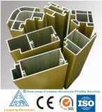 Perfil de alumínio para porta de alumínio Porta metálica Alumínio Alloy