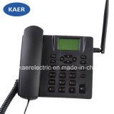 Teléfono sin hilos fijo SIM de la tarjeta dual del G/M