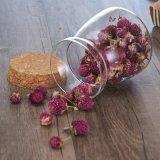 Vaso di vetro della caramella di zucchero dell'alimento della caramella del vaso del caffè dello zucchero del vaso di vetro del tè