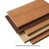 Melamina de 18mm de ambos bandos enfrentados laminada de madera contrachapada para muebles y puerta.