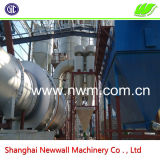 가득 차있는 Automatic 50tph Rotary Drum Type Mine Slag Dryer