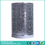 Moderno diseño simple ducha con vidrio impreso (LTS-816)