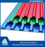 Гофрированные стальные металлические панели крыши Claddings цвета/Стены листов