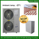 L'Allemagne -25c hiver froid en mode de chauffage au sol salle 100~220m²+55c l'eau chaude 12kw/19kw/35kw petit Evi chauffe-eau avec pompe à chaleur