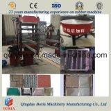 Mosaico de vulcanización de caucho la máquina Línea de producción de baldosas de caucho