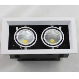 Uma cabeça/duas luz da grade do diodo emissor de luz da ESPIGA das cabeças/três cabeças