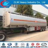 탄자니아를 위한 반 세 배 차축 6 격실 석유 탱크 트레일러 42000liters 연료 탱크 트레일러