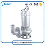 Le lisier submersible en acier inoxydable pour les grandes particules de la pompe de la faucheuse