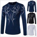 O t-shirt longo o mais novo da luva dos homens do esporte ao ar livre ou da pesca do OEM