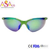 Lunettes de soleil du miroir Tr90 UV400 de sport d'hommes de qualité (14350)