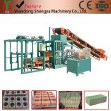 Bloco automático do cimento Qt4-20 hidráulico que faz a maquinaria