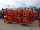 Fabriek die jfa-1 Regelbare Mixer van de Dieselmotor van de Trommel Mobiele Concrete verkopen