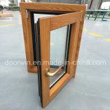북아메리카 알루미늄 클래딩 오크재 경사 회전 Windows