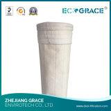 Sachet filtre de fibre de verre du tissu filtrant 160mmx 6000mm de fibre de verre