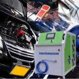 車のエンジンの脱炭素処理をする機械