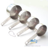 4 PCSのステンレス鋼の計量カップの調理器具