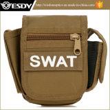 Pak van het Pak van de Taille van de Camouflage van de Zak van Esdy het Kleine Vierkante Multifunctionele Militaire
