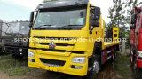 굴착기 수송 차량 Sinotruk HOWO 평상형 트레일러 트럭 20 톤